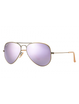 RAY-BAN RB 3025 - 167/4K | AVIATOR LARGE METAL Flash Lenses