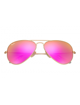 RAY-BAN RB 3025 - 112/4T | AVIATOR LARGE METAL Flash Lenses