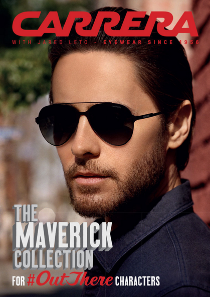 1146dbe5cd Carrera Maverick Collection featuring Jared Leto
